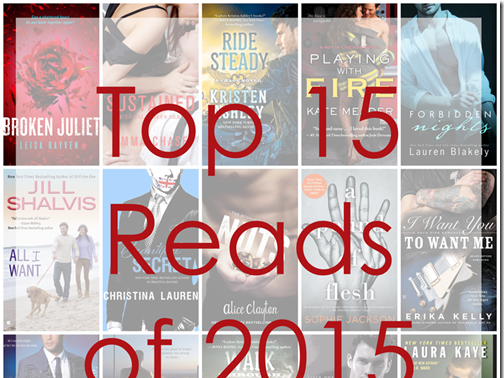 My Top 15 Reads for 2015