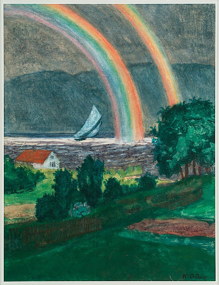 Nikolai Astrup - Little Rainbow