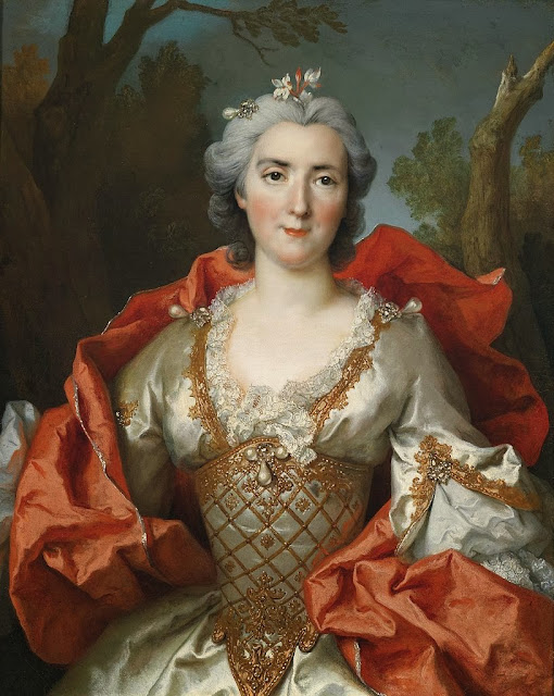 Nicolas de Largillière - Portrait of a Woman