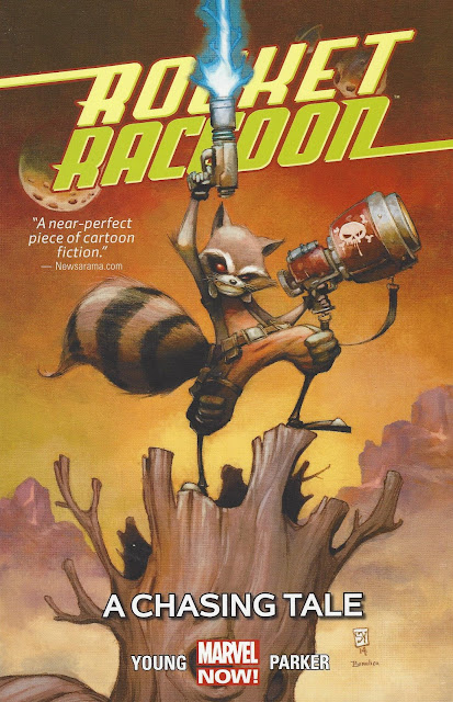 Rocket Raccoon, v. 1: A Chasing Tale cover