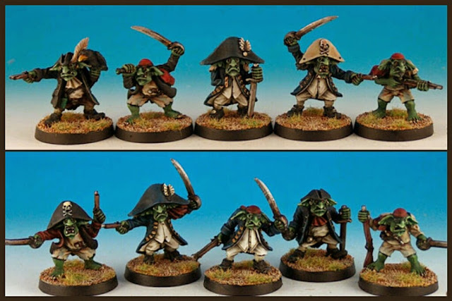 goblins piratas Black Scorpion