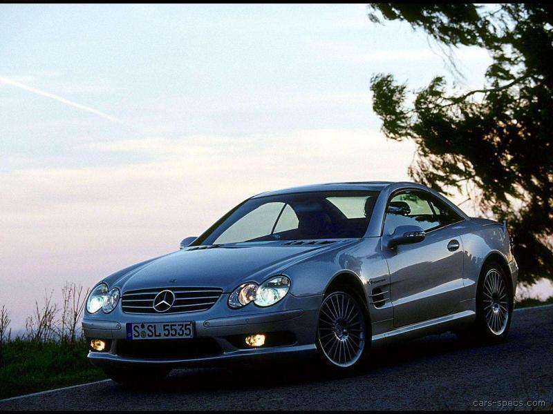 2005 mercedes benz sl class sl55 amg specifications for Mercedes benz sl55 amg specs