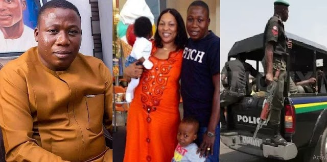 SAD! How Sunday Igboho, wife were betrayed by their travel agent in Cotonou