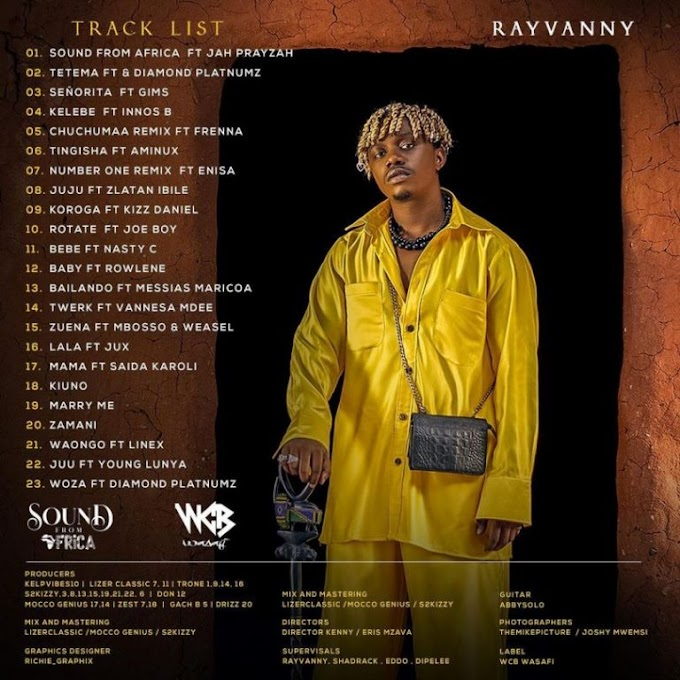 ALBUM | RAYVANNY - SOUND FROM AFRICA | DOWNLOAD AUDIO