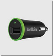 Belkin Single USB Micro Car Charger
