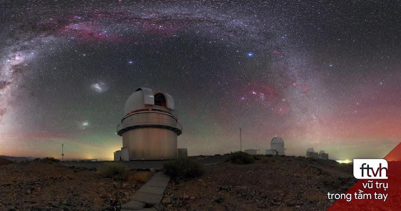 Dải Ngân Hà trên bầu trời Đài quan sát La Silla