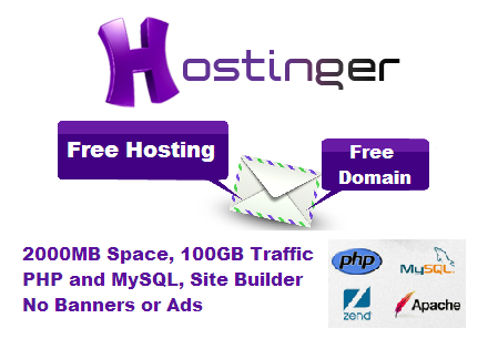 Get Free Web Hosting With Amazing Features.