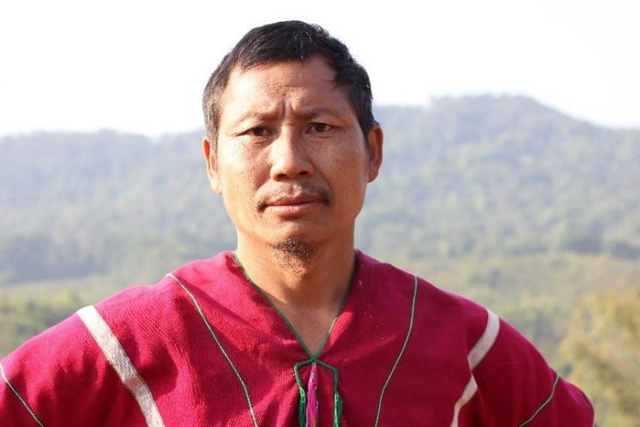 Indigenous and environmental activist Saw O Moo was killed by soldiers with the Myanmar military on 5 April 2018. Photo: KESAN