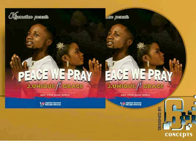 """Song Writer """"J. Unique"""" Features """"Grace"""" On New Music """"Peace We Pray"""" Set to Drop in May"""