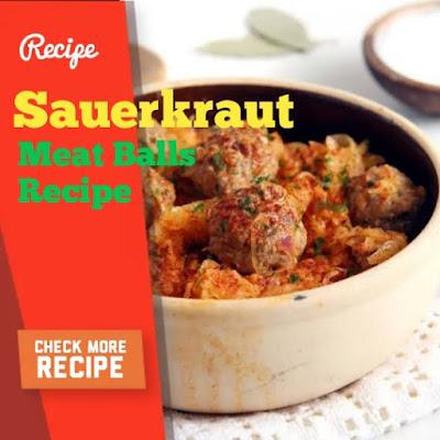 Sauerkraut Meat Balls