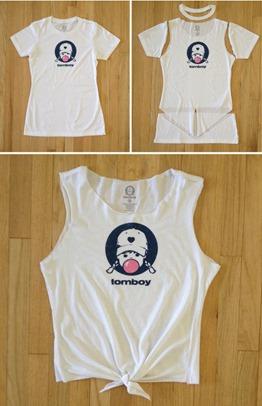 diy ideas t shirt makeovers pretty designs - T Shirt Design Ideas Cutting