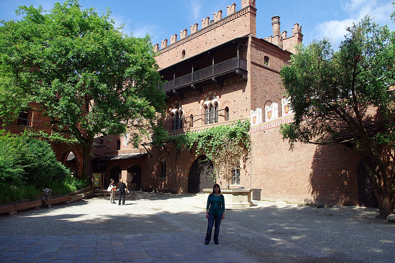Turín en un día. Villa Medieval, Turín