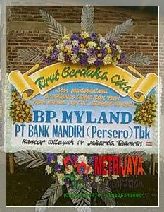 ucapan turut berduka cita dari PT. Bank Mandiri (Persero) Tbk