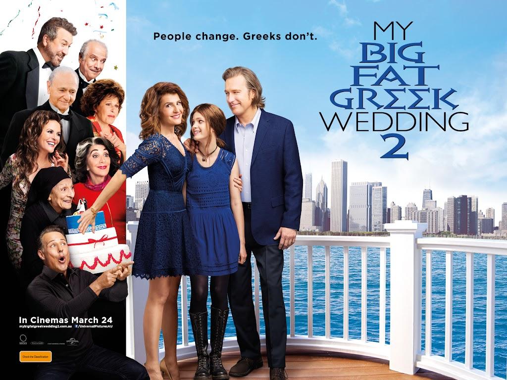 Γάμος αλά Ελληνικά 2 (My Big Fat Greek Wedding 2) Wallpaper