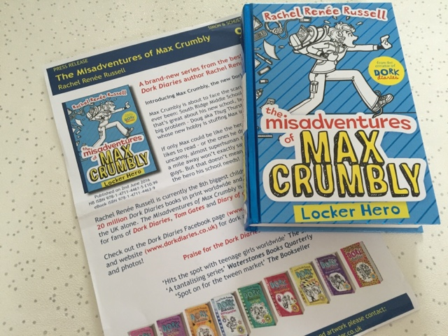 max-crumbly-book-rachel-renee-russell-new-release