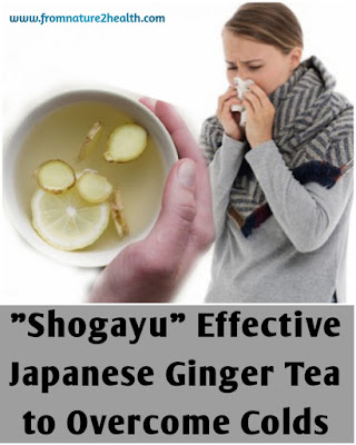 Ginger Tea for get rid of common cold