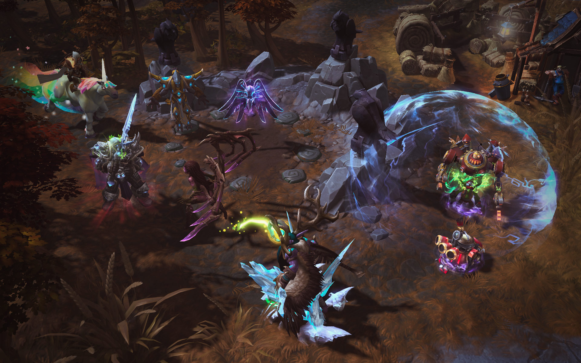 Heroes of the Storm: MOBA của Blizzard lộ diện 4