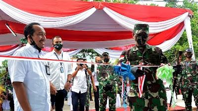 Pangdam XII/Tpr Resmikan Rumah Khusus Bantuan Kementerian PUPR untuk Prajurit