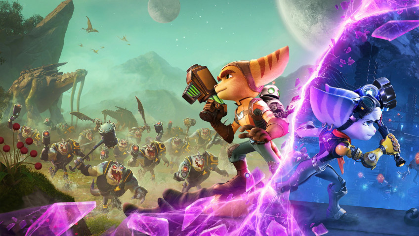 """Review of """"Ratchet & Clank: Through the Worlds"""". an old friend is better than two new ones"""