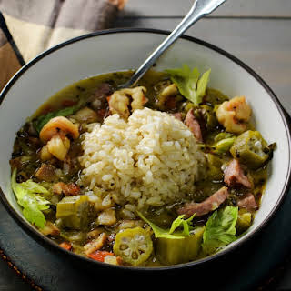Louisiana Shrimp Gumbo.