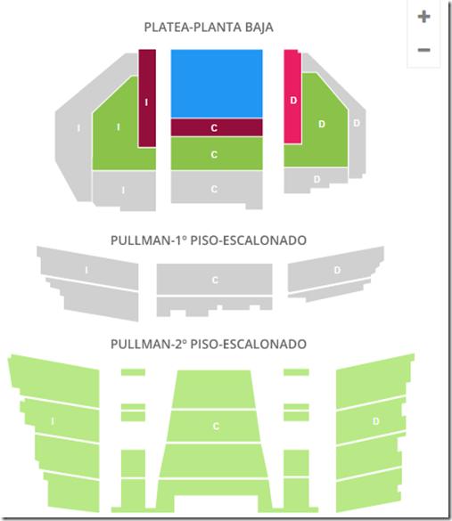 Teatro Gran Rex entradas y lugares disponibles