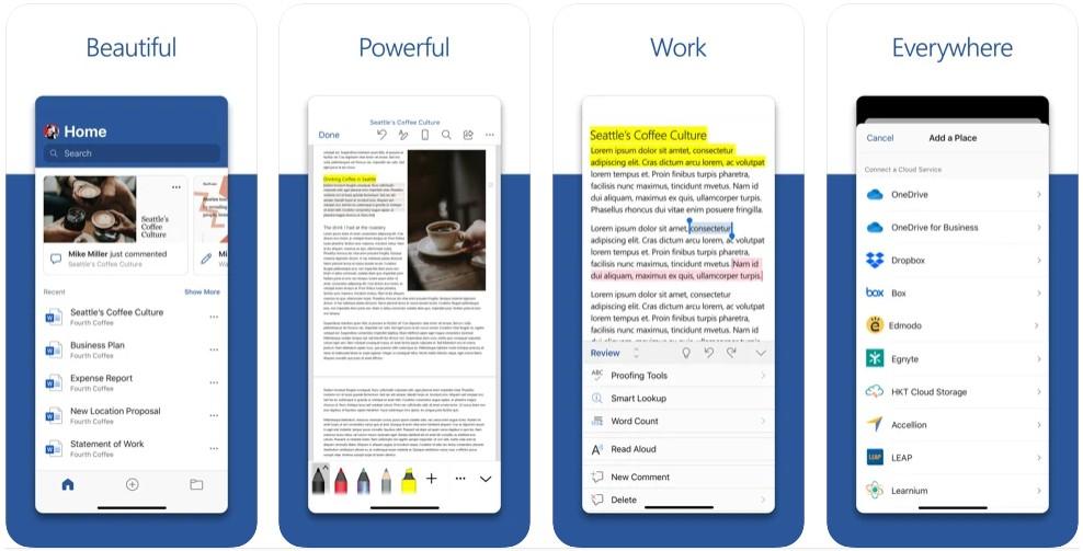 Microsoft Word- Create a Resume, Essay or PDF