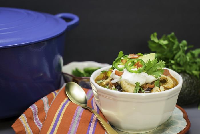 Chipotle Chicken Chile Stew