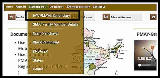 इंदिरा गांधी आवास योजना सूची