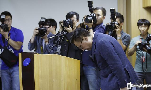 Samsung xin lỗi người dùng trên toàn thế giới