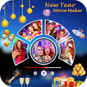 New Year Photo Video Maker - Movie Maker 2020