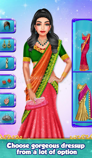 Indian Gopi Beauty Salon : Makeup Dressup Girls modavailable screenshots 12