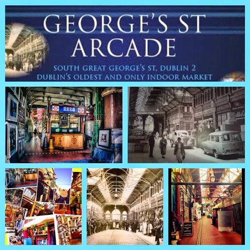 Stokes books, Georges Street Arcade. From 28 Best Bookshops in Dublin