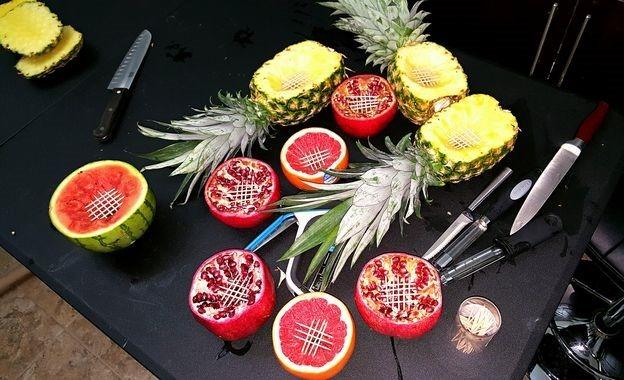 hookah from fruits