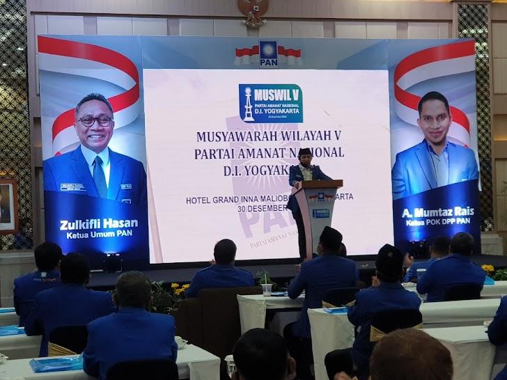 Sukses Digelar, Muswil PAN DIY Putuskan Pengurus Baru 2020-2025
