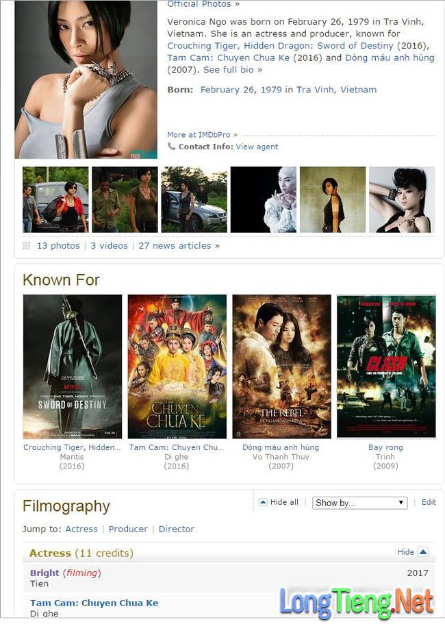 Ngô Thanh Vân hợp tác cùng đạo diễn Suicide Squad trong phim mới của Hollywood - Ảnh 1.