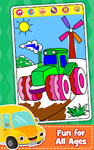 Cars Coloring Book For Kids Doodle Paint Draw 2 2 Apk Indir