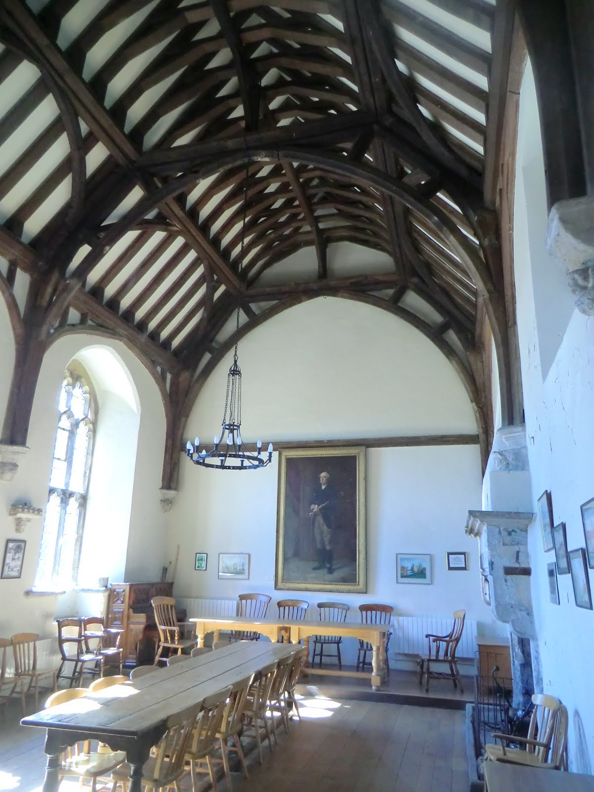 CIMG3885 Hall in New College of Cobham