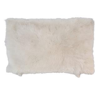 Helen Yarmak Mongolian Lamb Pillow