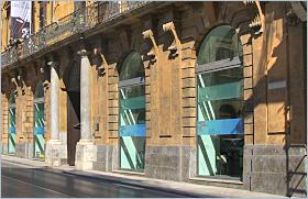 Sizilien, Palermo - Palazzo Riso - Ehemaliger Treffpunkt der liberalen Aristokraten im 19. Jahrhundert. Heute Museum für zeitgenössische Kunst