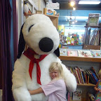 Snoopy and our small pal Clo