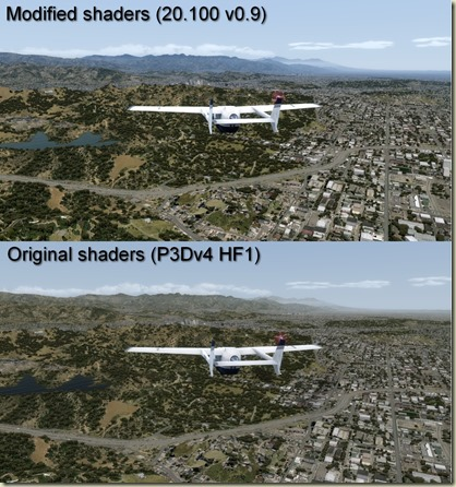 Hollywood - Default vs PTA 20.100 v0.9 Comparison pictures