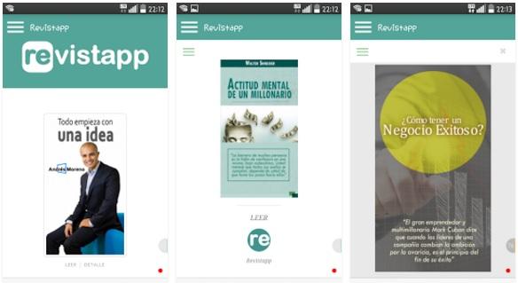 REVISTAPP, aplicación gratuita sobre desarrollo personal para emprendedores