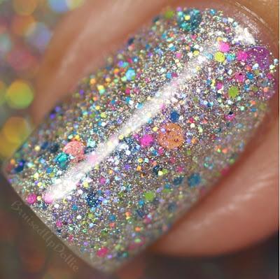 Glam Polish Sonic Rainboom Macro