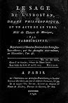 Le Sage de L'Indostan (1796,in French)