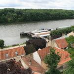 Parc du Prieuré : vue sur la Seine