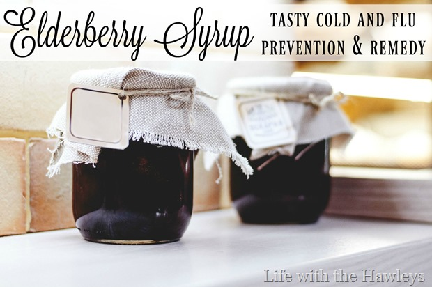 Elderberry Syrup- Life with the Hawleys- Watermark