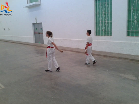 Inesperada derrota en pelota valenciana infantil