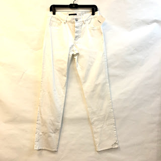 Theory NEW White 5-Pocket Pants