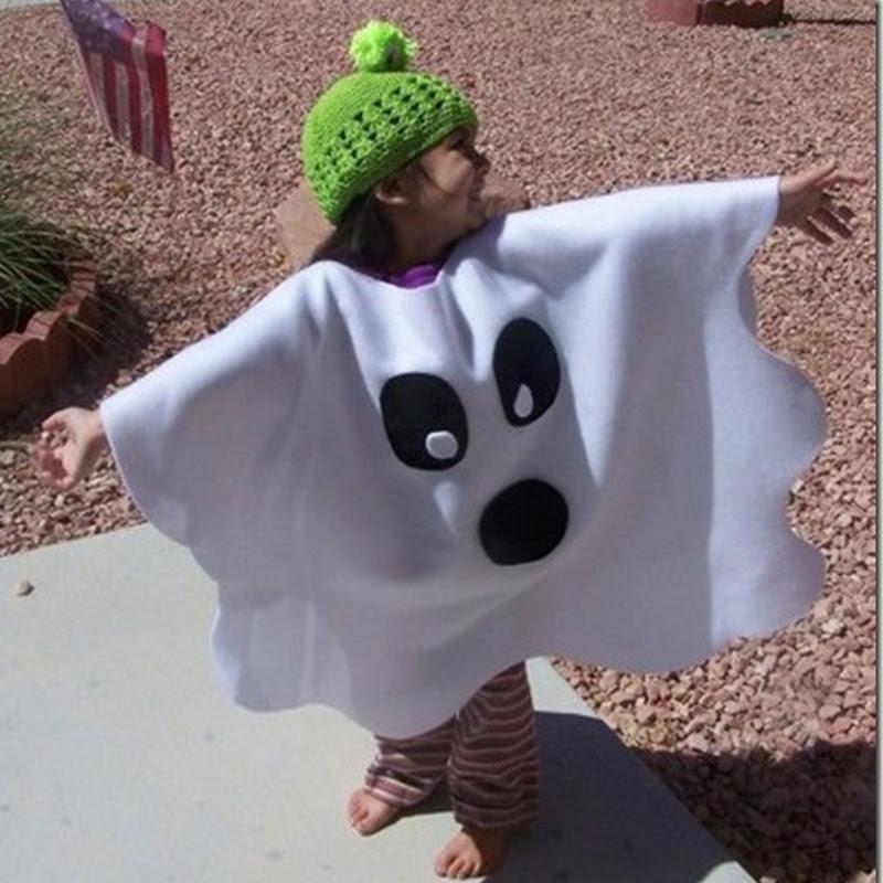 Disfraz casero de Fantasma muy fácil