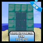 Diamond Portal Mod for MCPE
